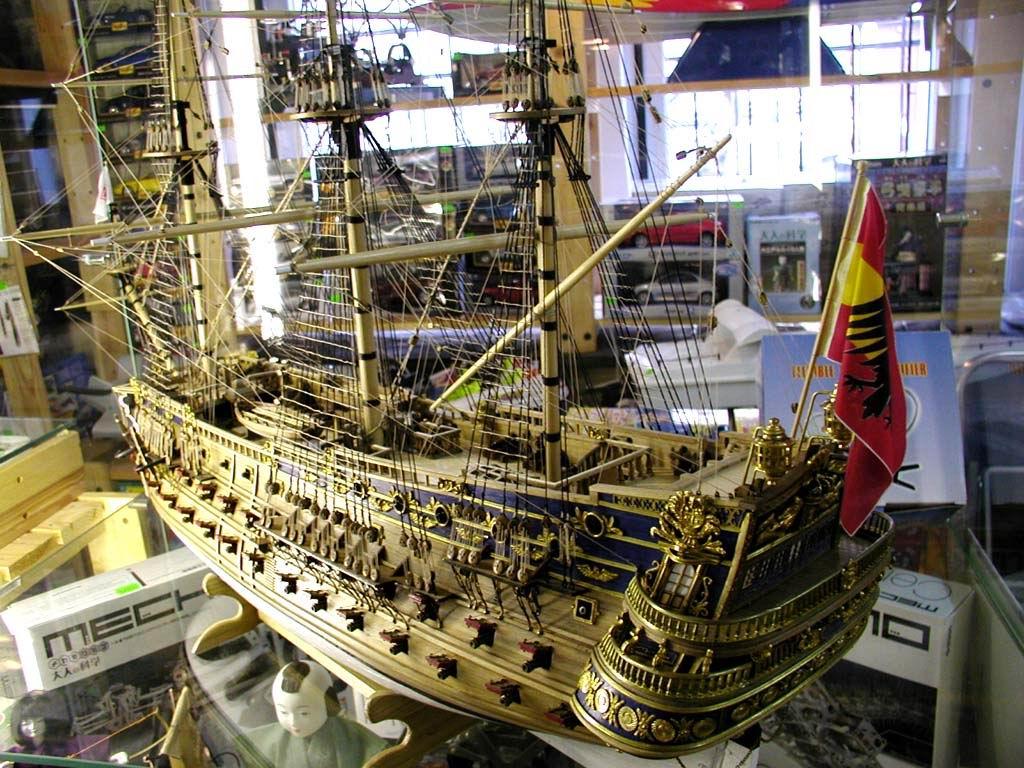 Моделирование моделей кораблей своими руками 15